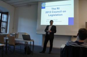 Vortrag Council on Legislation