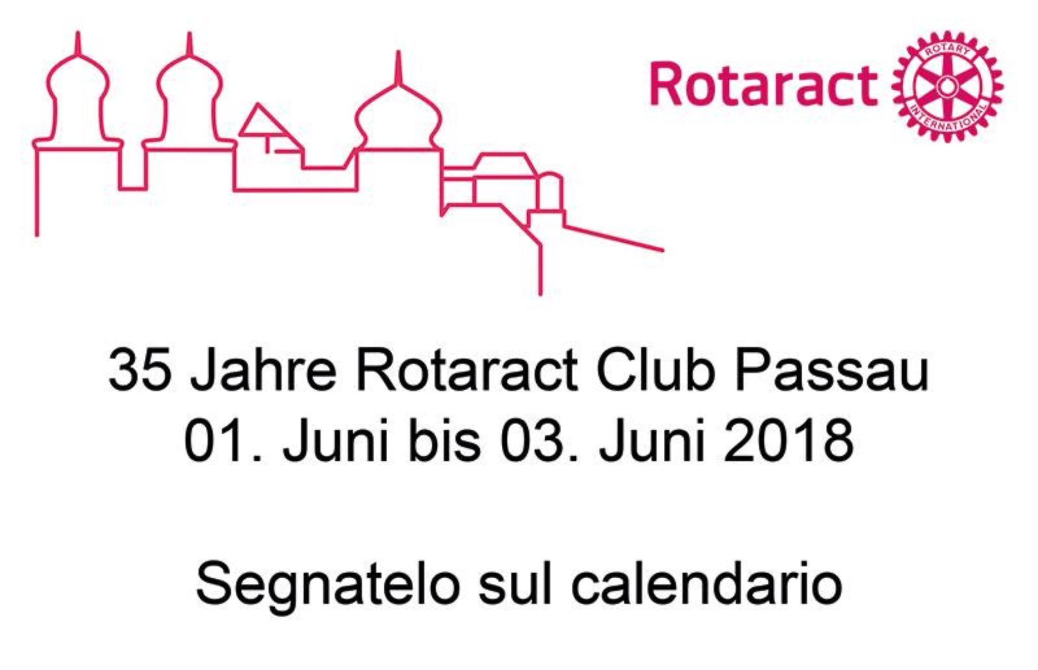 Charter - 35 Jahre Rotaract Club Passau